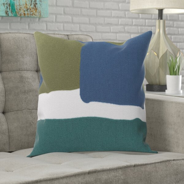Greenway 100% Cotton Throw Pillow Cover by Mercury Row